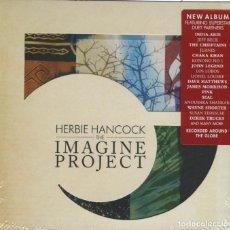 CDs de Musique: HERBIE HANCOCK / THE IMAGINE PROJECT / 2010 SONY MUSIC DIGIPACK CD EU ¡¡¡PRECINTADO!!!. Lote 196845923