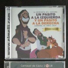 CDs de Música: LOTE CD CHIRIGOTAS CASCANA CARNAVAL DE CÁDIZ (NUEVOS). Lote 196952527