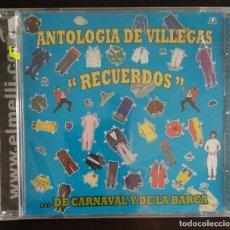 CDs de Música: CD ANTOLOGÍA ENRIQUE VILLEGAS CARNAVAL (PRECINTADO). Lote 196953588