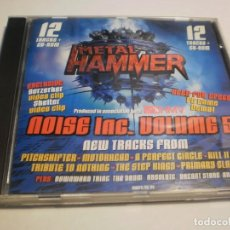 CDs de Música: CD METAL HAMMER 13 TEMAS. NOISE INC VOLUME 5 FUTURE 2000 LONDON (BUEN ESTADO, SEMINUEVO). Lote 196982536