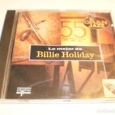 CDs de Música: CD LO MEJOR DE BILLIE HOLIDAY. EL GRAN JAZZ EDIC PRADO 1995 SPAIN (BUEN ESTADO). Lote 197023226
