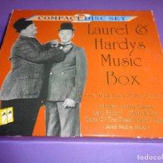 CDs de Música: LAUREL & HARDY / MUSIC BOX / 2 CD. Lote 197042380