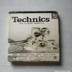 CDs de Música: TECHNICS THE ORIGINAL SESSIONS PACK 4 CDS.SIN ESTRENAR.. Lote 197073963