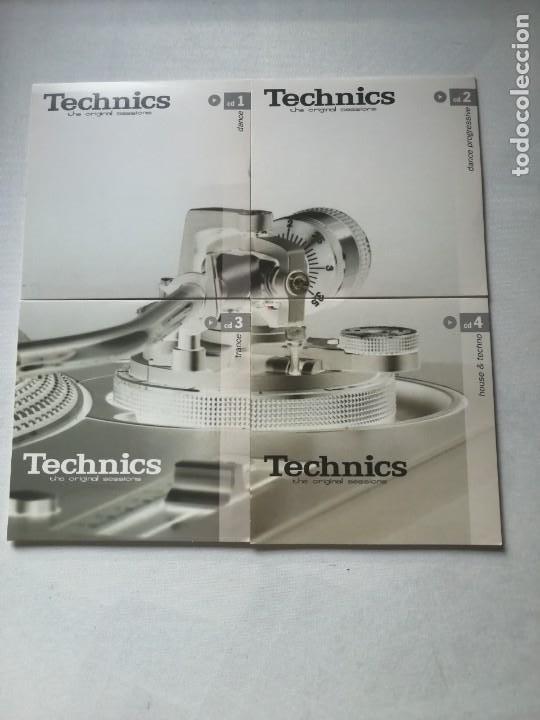 CDs de Música: TECHNICS THE ORIGINAL SESSIONS PACK 4 CDS.SIN ESTRENAR. - Foto 3 - 197073963