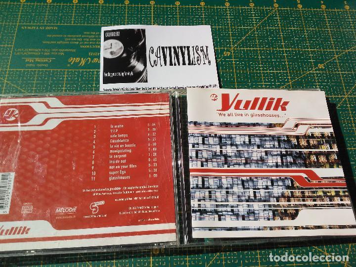 YULLIK – WE ALL LIVE IN GLASSHOUSES CD S-PRESSO – SP05CD (Música - CD's Techno)