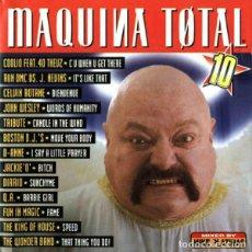 CDs de Música: CD MAQUINA TOTAL 10 COMPLETO 2 CDS. Lote 213682907