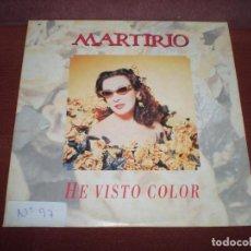 CDs de Música: CD SINGLE MARTIRIO / HE VISTO COLOR - DE HOMENAJE 2 TRACKS - CARTON. Lote 197131478