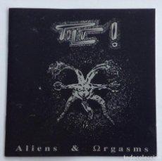 CDs de Música: TILT ALIENS & ORGASMS. Lote 197141081