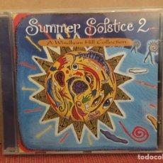 CD de Música: SUMMER SOLSTICE 2: A WINDHAM HILL COLLECTION (CD, ALBUM, COMP) (WINDHAM HILL RECORDS) (D:VG+). Lote 197265548