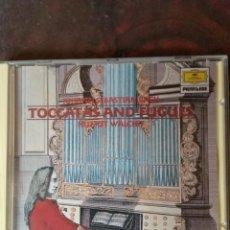 CDs de Música: JOHANN SEBASTIAN BACH - TOCCATAS AND FUGUES. Lote 197290510