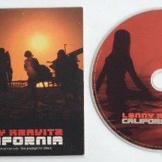 CDs de Música: LENNY KRAVITZ CALIFORNIA CD PROMO. Lote 210695681