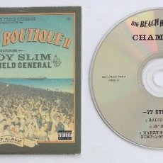 CDs de Música: FATBOY SLIM BIG BEACH BOUTIQUE CAMONIX CD RADIO EDIT 12 MIX. Lote 197313715
