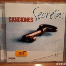 CDs de Música: CANCIONES SECRETAS 1 - COMPRA MÍNIMA 3 EUROS. Lote 197319493