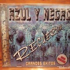 CDs de Música: AZUL Y NEGRO - RECUERDA - GRANDES ÉXITOS - 2002 - COMPRA MÍNIMA 3 EUROS. Lote 197328990
