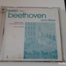 CDs de Música: BEETHOVEN AND OTHERS. DIABELLI´S WALTZ - THE COMPLETE VARIATIONS. R. BUCHBINDER, PIANO. ERATO 2 CD´S. Lote 197356106