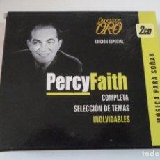 CDs de Música: PERCY FAITH Y SU ORQUESTA 2 CD´S EDICIÓN ESPECIAL. COMPLETA SELECCIÓN DE TEMAS INOLVIDABLES.. Lote 197358303