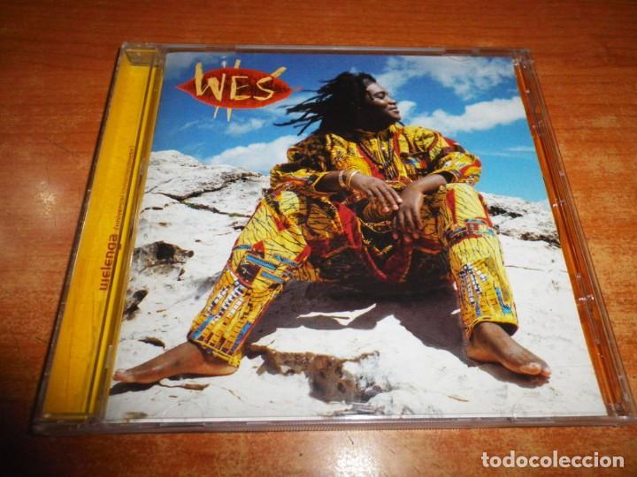 WES WELENGA CD ALBUM DEL AÑO 1998 AUSTRIA CONTIENE 14 TEMAS 2 TEMAS EXTRA DEEP FOREST RARO (Música - CD's Reggae)