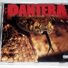 CDs de Música: CD PANTERA - THE GREAT SOUTHERN TRENDKILL. Lote 197380892