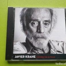 CDs de Música: JAVIER KRAHE - LAS DIEZ DE ÚLTIMAS - 2013 - COMPRA MÍNIMA 3 EUROS. Lote 197414685