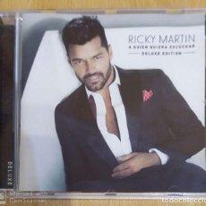 CDs de Música: RICKY MARTIN (A QUIEN ESCUCHAR) CD 2015 DELUXE EDITION. Lote 197416262