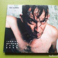 CDs de Música: LUIS AUSERÓN - RUBBISH GARBAGE JUNK PUNK - DIGIPACK - 2009 - COMPRA MÍNIMA 3 EUROS. Lote 197427868