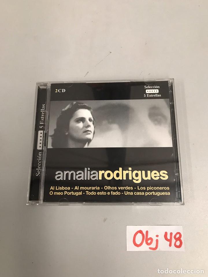 AMALIA RODRIGUES (Música - CD's Flamenco, Canción española y Cuplé)