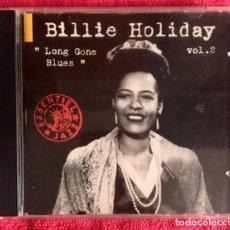 CDs de Música: BILLIE HOLYDAY - LONG GONE BLUES. Lote 197475781