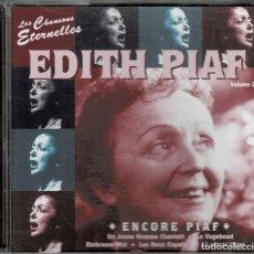 CDs de Música: EDITH PIAF / ENCORE PIAF / CD DE 1999 RF-5403 . Lote 197547552