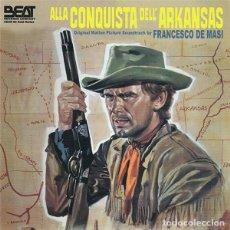 CDs de Música: ALLA CONQUISTA DELL´ARKANSAS / FRANCESCO DE MASI CD BSO. Lote 266979469