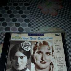 CDs de Música: LO MEJOR DE RAQUEL MELLER/ESTRELLITA CASTRO. EDICION DE 1990. Lote 207333233