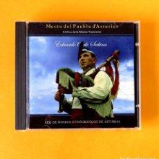 CDs de Música: EDUARDO'L DE SABINA - MUSÉU DEL PUEBLU D'ASTURIES - CD CON 19 TEMAS - FONO ASTUR - NUEVO. Lote 197722071