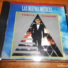 CDs de Música: TOMITA IN SURROUND CD ALBUM 1996 PORTADA PARA ESPAÑA COLECCION LAS NUEVAS MUSICAS 10 TEMAS. Lote 197752335