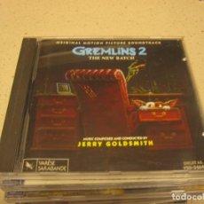 CDs de Música: GREMLINS 2 JERRY GOLDSMITH BUEN ESTADO. Lote 197781311