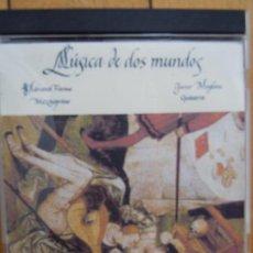 CDs de Música: MUSICA DE DOS MUNDOS - ADRIANA FARINA (MEZZOSOPRANO). JAVIER MOGLIONE (GUITARRA). 2CD.. Lote 197833008