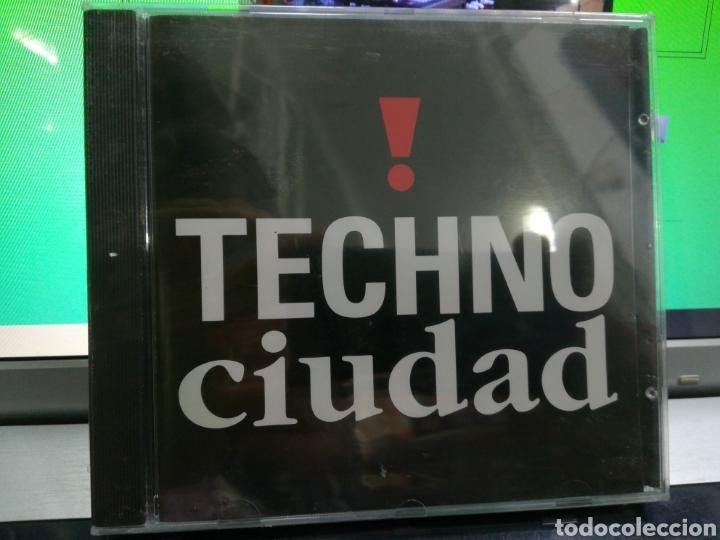 TECHNO CIUDAD CD 1992 RAREZA PRECINTADO (Música - CD's Techno)