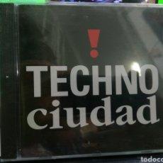 CDs de Música: TECHNO CIUDAD CD 1992 RAREZA PRECINTADO. Lote 197843005