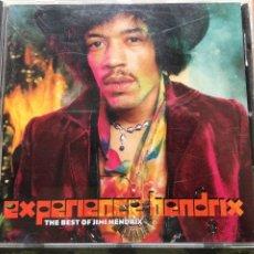 CDs de Música: JIMI HENDRIX - EXPERIENCE HENDRIX - THE BEST OF JIMI HENDRIX (CD, COMP) (MCA RECORDS) (D:NM). Lote 277755048
