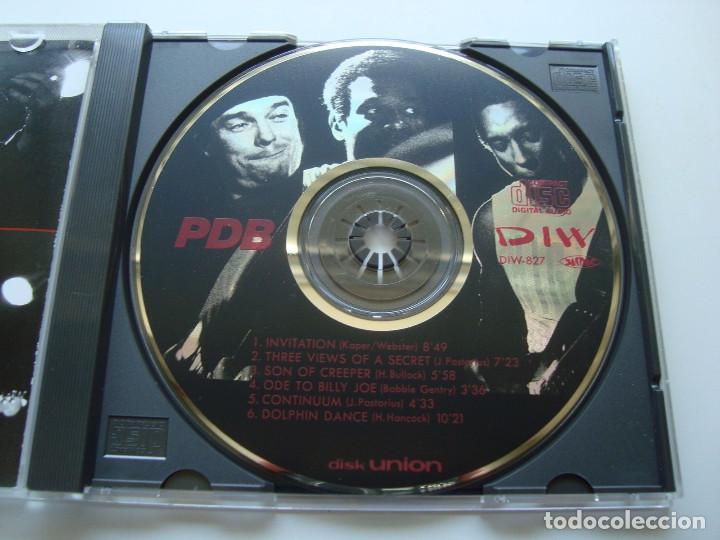 CDs de Música: JACO PASTORIUS - PDB, HIRAM BULLOCK, RARO, INEDITO LIVE BOSTON 86 EDT JAPAN COLLECTORS - Foto 3 - 197914231