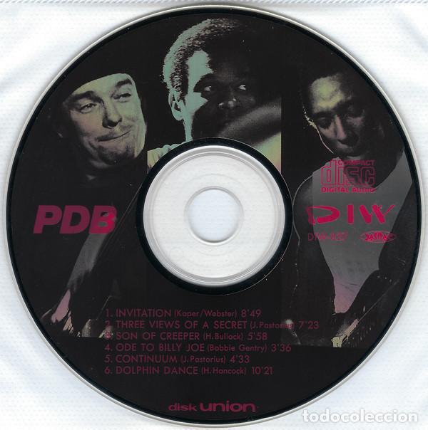 CDs de Música: JACO PASTORIUS - PDB, HIRAM BULLOCK, RARO, INEDITO LIVE BOSTON 86 EDT JAPAN COLLECTORS - Foto 6 - 197914231