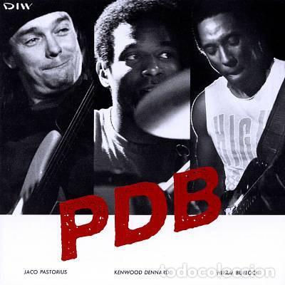 CDs de Música: JACO PASTORIUS - PDB, HIRAM BULLOCK, RARO, INEDITO LIVE BOSTON 86 EDT JAPAN COLLECTORS - Foto 10 - 197914231