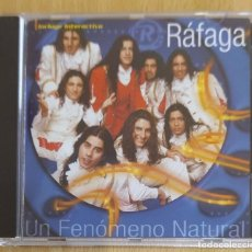 CDs de Música: RAFAGA (UN FENOMENO NATURAL) CD 2000. Lote 197935170
