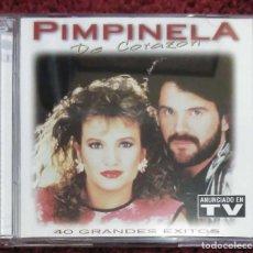 CDs de Música: PIMPINELA (DE CORAZÓN - 40 GRANDES EXITOS) 2 CD'S 1997. Lote 197939116