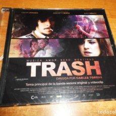 CDs de Música: TRASH BANDA SONORA CD SINGLE PROMO PRECINTADO MUSICA SANTOS MARTINEZ 1 TEMA + VIDEOCLIP. Lote 197944865