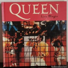 CDs de Música: QUEEN LIVE MAGIC LIBRO + CD. Lote 197952745