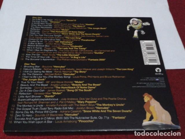 CDs de Música: CD DOBLE ALBUM LIMITED EDITION PACKAGING DISNEY´S GREATEST HITS 2001 DEL PARQUE DISNEYLAND PARIS - Foto 2 - 197966401