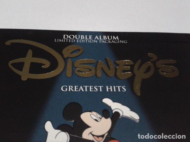 CDs de Música: CD DOBLE ALBUM LIMITED EDITION PACKAGING DISNEY´S GREATEST HITS 2001 DEL PARQUE DISNEYLAND PARIS - Foto 4 - 197966401