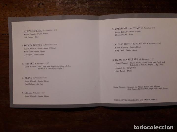 CDs de Música: Kazumi watanabe - dogatana - Foto 2 - 197985041