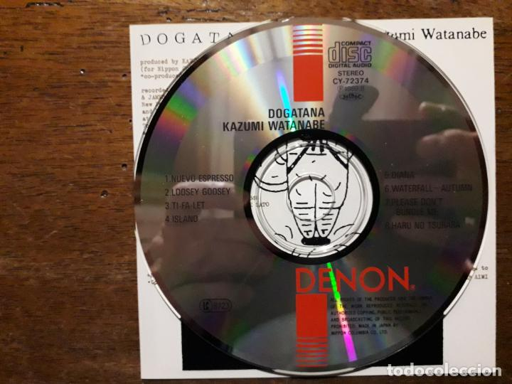 CDs de Música: Kazumi watanabe - dogatana - Foto 4 - 197985041