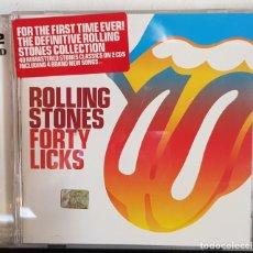 CDs de Música: ROLLING STONES FORTY LICKS 2 CD. Lote 198017500