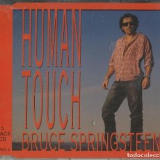 CDs de Música: BRUCE SPRINGSTEEN SINGLE HUMAN TOUCH. Lote 198032228
